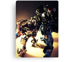 Ironhide and Jazz Canvas Print