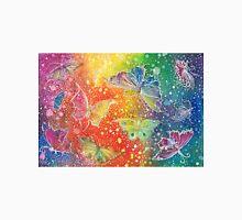 Batik Rainbow Butterflys Unisex T-Shirt