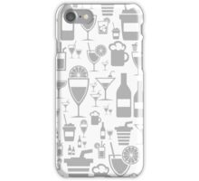 Alcohol a background iPhone Case/Skin