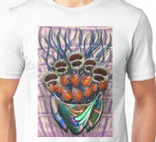 Reflector Flowers in the Wall Vase Unisex T-Shirt