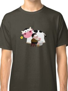 Milking Boy Classic T-Shirt