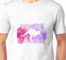 Kangaroo Silhouette Unisex T-Shirt