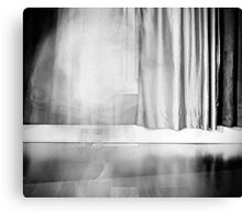 The Little Steps I Hear Walking Late at Night... Canvas Print