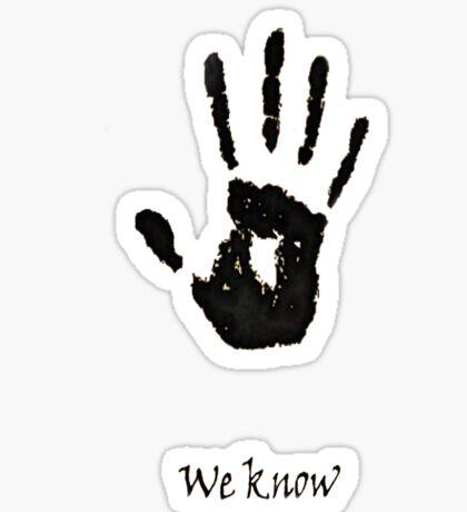 we know!!!! Sticker