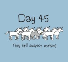 Day 45. They still suspect nothing. (Rhino + Unicorns) by jezkemp