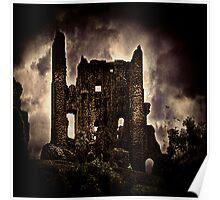 Corfe Castle Keep Poster