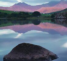 Llynau Mymbyr by John Kiely