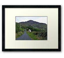 Mamore Gap Framed Print
