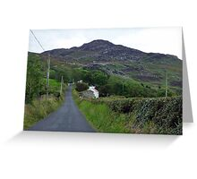 Mamore Gap Greeting Card