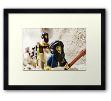 Sand Pirates Framed Print