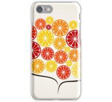 Branch an orange iPhone Case/Skin