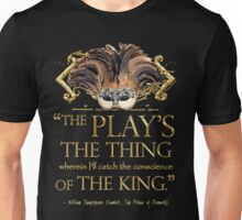 Shakespeare Hamlet Play Quote Unisex T-Shirt