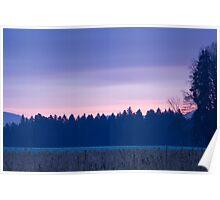 Dawn breaks over Gorenjska Poster