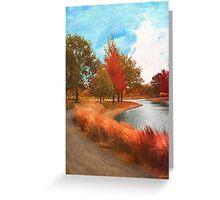Autumn At Mcbride Arboretum Greeting Card