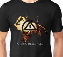 Giving Hell... Hell - John Constantine Shirt Unisex T-Shirt