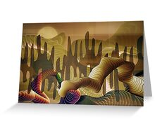 Western Outback Greeting Card