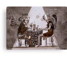 blind date  Canvas Print