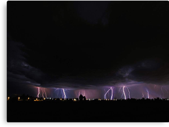 Severe Thunderstorm by EOS20