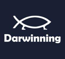 Darwinning (White design) One Piece - Short Sleeve
