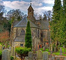 Parish Kirk of Mid-Calder by Tom Gomez