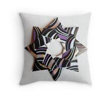 Kusudama star 2 Throw Pillow