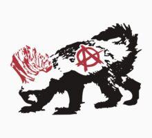 Punk Honey Badger by jezkemp