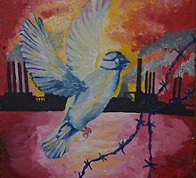 Dove mask by Sarah Horsman