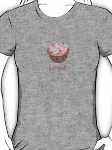 cupcake love - pink T-Shirt