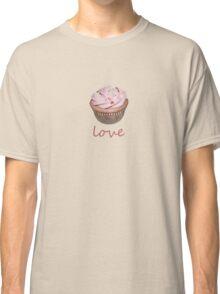 cupcake love - pink Classic T-Shirt