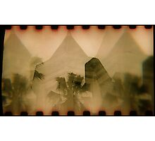 pyramids Photographic Print