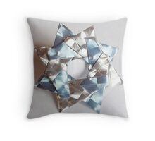 Kusudama star 3 Throw Pillow