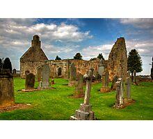 Ruined Church Photographic Print
