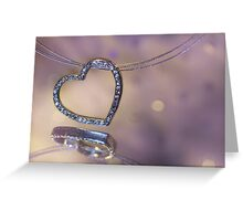 Hearts and Diamonds Greeting Card