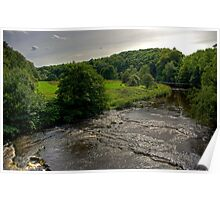 View from the Naysmith Bridge Poster