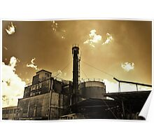 The Old Mill - Launceston Tasmania Poster