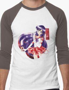 Eternal Sailor Mars Men's Baseball ¾ T-Shirt