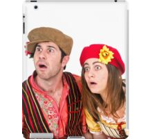 Fear by Hansel and Gretel On white Background iPad Case/Skin