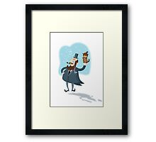 Groundhog Day...yeah!! Framed Print