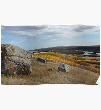 North Saskatchewan River  Poster