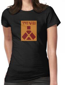 Wampa Warning Womens Fitted T-Shirt