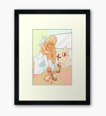 Fun With Colorful Toys Framed Print
