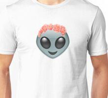 Alien Flower Crown Graphic Unisex T-Shirt