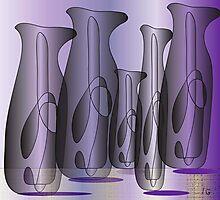 Vases 2 Photographic Print