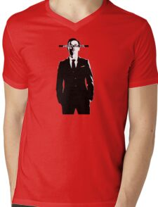 MORIARTY LIVES Mens V-Neck T-Shirt