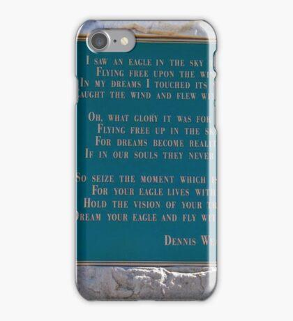 Dennis Weaver's Words iPhone Case/Skin