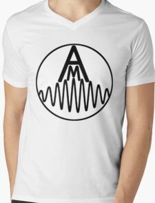 AM Wave Mens V-Neck T-Shirt