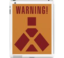 Wampa Warning - English iPad Case/Skin