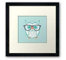 Mister Odd Owl Framed Print