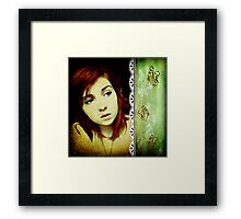 The end of the innocence... Framed Print