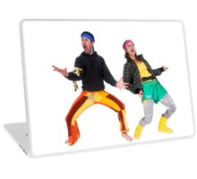 hiphop street dancing Laptop Skin